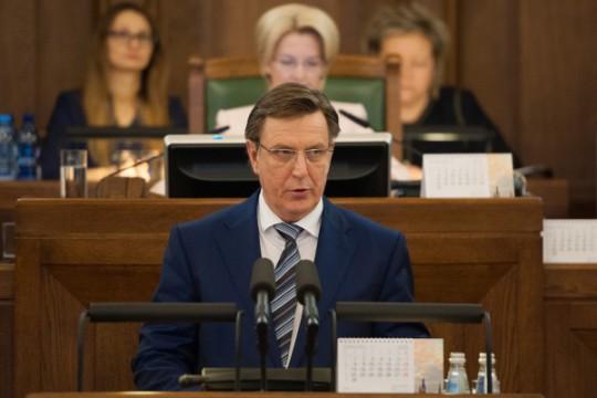 Il neo premier Māris Kučinskis. Foto F64